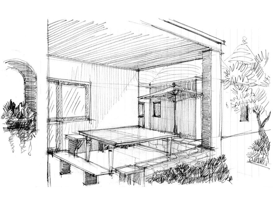 Porticato 2 - Cour 2 - Courtyard 2