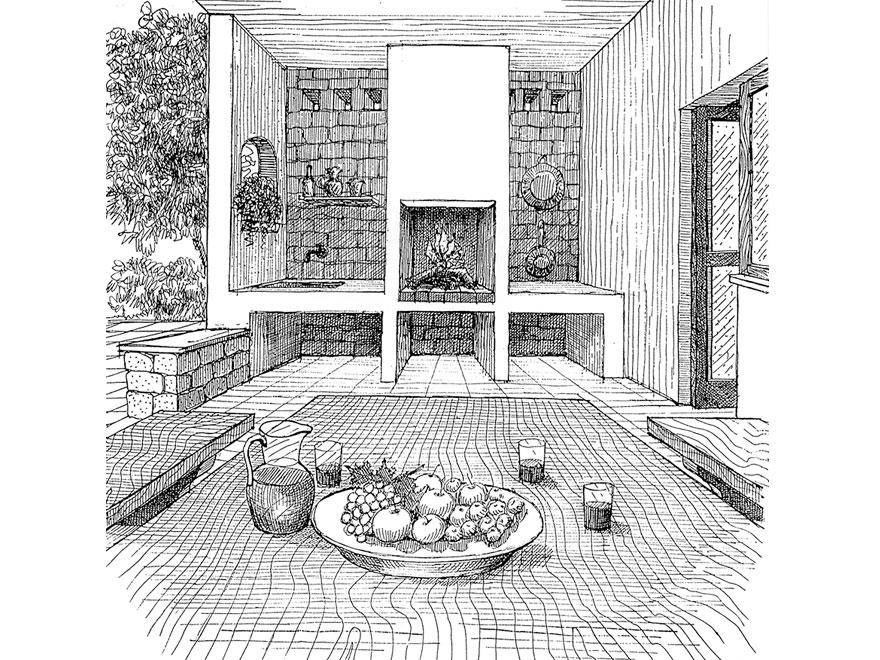 Porticato - Cour - Courtyard